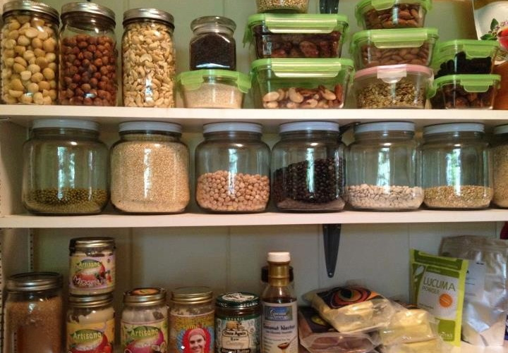 Peek In The Kitchen Pantry of a Health Coach | KUL Healthy You