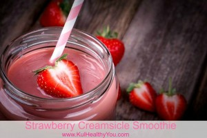 Strwaeberry Creamsicle Smoothie